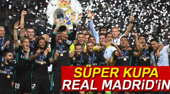 Süper Kupa Real Madrid'in
